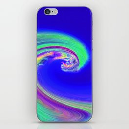 """Angry Ocean"" Photograph iPhone Skin"