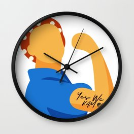 Yes we Cam Wall Clock