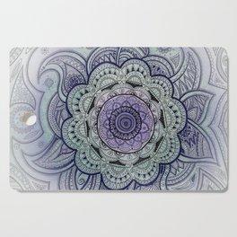 Mandala Violet Cutting Board