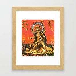 Hindu - Kali 5 Framed Art Print