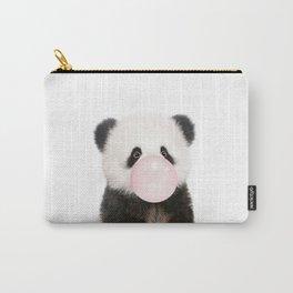 Bubble Gum Panda Bear Carry-All Pouch
