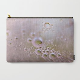 Light and Bubbly Carry-All Pouch