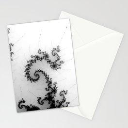 detail on mandelbrot set - pseudopod Stationery Cards