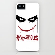 Joker - Why so serious? iPhone (5, 5s) Slim Case