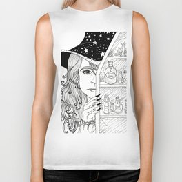 Apothecary Witch Biker Tank