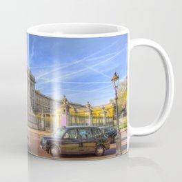 Buckingham Palace And london Taxis Coffee Mug