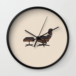 TFP #1 Eames Lounge Wall Clock