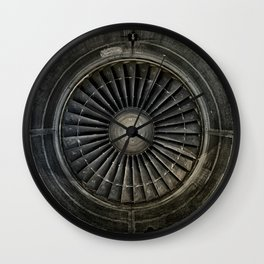 The Plane Engine Wall Clock