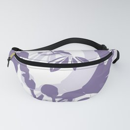 BC lila silhouette Fanny Pack