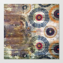 AMASONDO PATCHWORK PATTERN ART Canvas Print