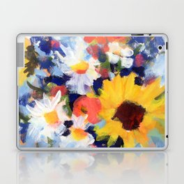 Sunny Day Bouquet Laptop & iPad Skin