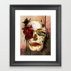 skull3 Framed Art Print