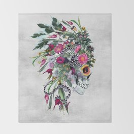 Momento Mori Chief Throw Blanket