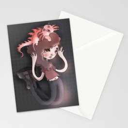 The monster in my head is cuter than me Stationery Cards