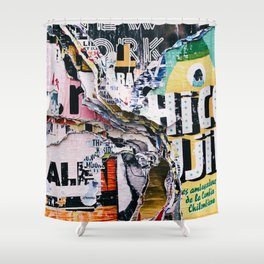 The Wild Posters (Color) Shower Curtain