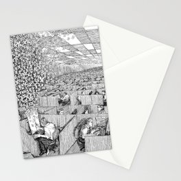 Escaping Monotony Stationery Cards