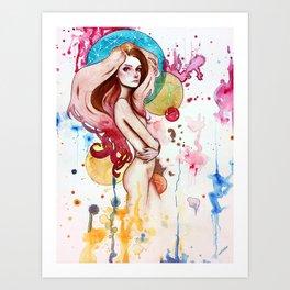 Twixt Art Print