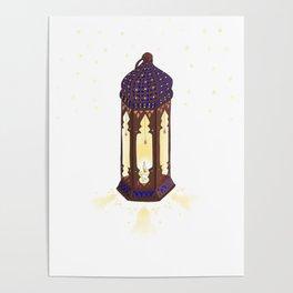 Oriental Lantern Poster