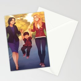 A Perfect Family Stationery Cards