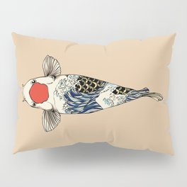 The Great Wave Of Koi Pillow Sham