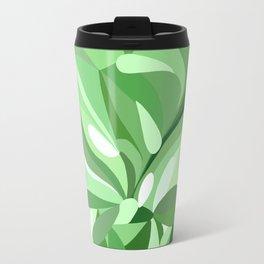 Chrysanthemum in green Travel Mug
