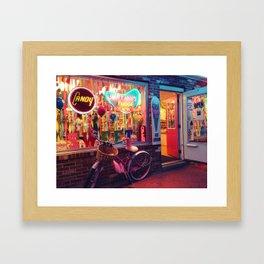 What Are They Selling? Framed Art Print
