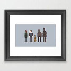 Guardians of the Galaxy Framed Art Print