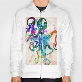 Octopus Grunge Hoody