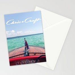 Chris Craft Boat Stationery Cards