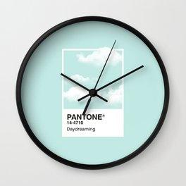 Pantone Series – Daydreaming Wall Clock