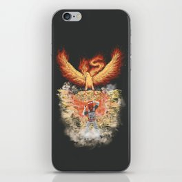 Fire Bird Encounter iPhone Skin