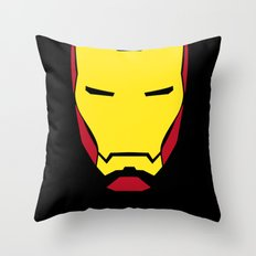 IRON FULLCOLOR Throw Pillow