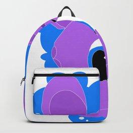 Purple Alien Backpack