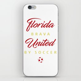 Florida Brava iPhone Skin
