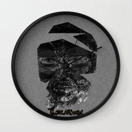 Tornface Wall Clock