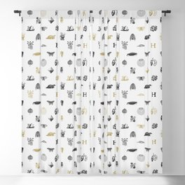 House of the Loyal - Pattern I Blackout Curtain