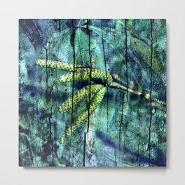 ARCHAIC BLUE DREAM Metal Print