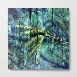 ARCHAIC GREEN DREAM Metal Print
