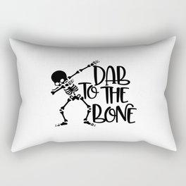 Dab To The Bone Rectangular Pillow