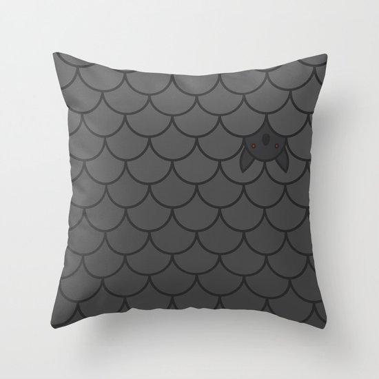 The Last Bat Throw Pillow
