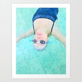 Carefree Summer Art Print