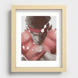 Street Fighter Recessed Framed Print