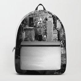 New York City Black & White Backpack
