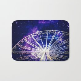 Galaxy Ferris Wheel Bath Mat
