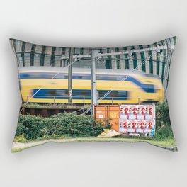 Commuter Train Rectangular Pillow