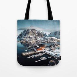 reine at landscape Tote Bag
