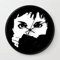 helen Wall Clocks featuring Helen Stickland - DESIGN by Paul Stickland for StrangeStore