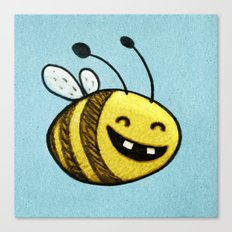 Bee 2 Canvas Print