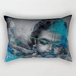 Krishna The mischievous one - The Hindu God Rectangular Pillow