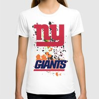 giants T-shirts featuring ny giants by Dan Solo Galleries